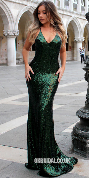 8a56e7c64f9 Sequin Sexy Backless Prom Dress
