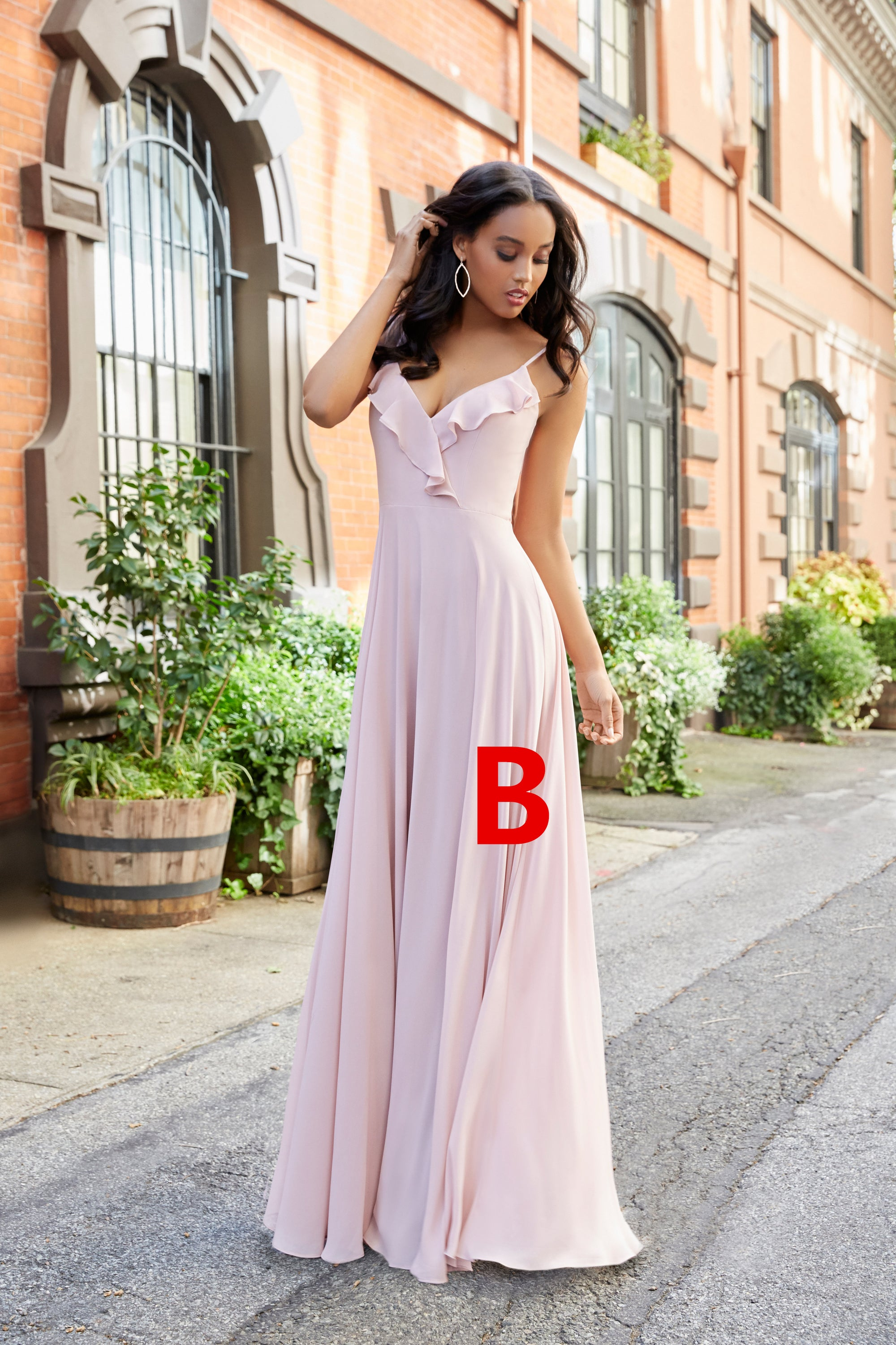 Mismatched bridesmaid dress chiffon bridesmaid dress pink mismatched bridesmaid dress chiffon bridesmaid dress pink bridesmaid dress lb0907 ombrellifo Choice Image