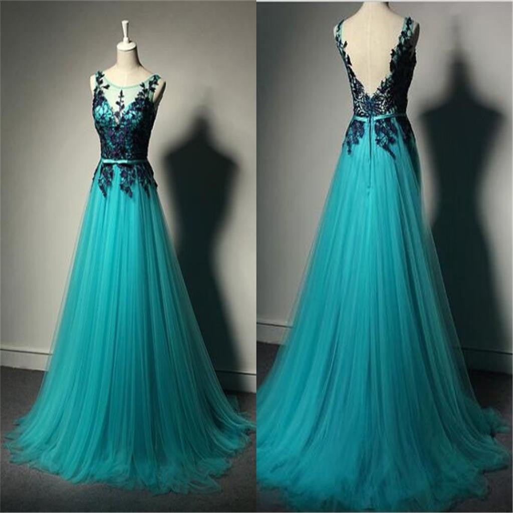 Tulle  Prom Dresses,V-Back Prom Dresses,Floor-length Prom Dresses, Custom Prom Dresses,Party Dresses ,Cocktail Prom Dresses ,Evening Dresses,Long Prom Dress,Prom Dresses Online,PD0202