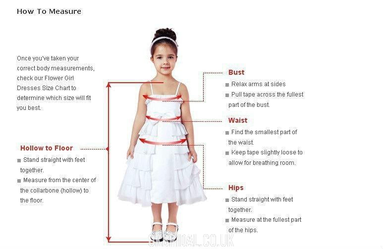 Ivory A-line Cute Tulle Flower Girl Dress, FC2165