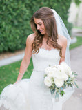 Sweetheart Long Mermaid White Lace Gorgeous Tulle High Quality Wedding Dresses, FC1474