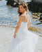 Long Simple Design Mermaid Wedding Dress, Tulle Sweet Heart Backless Wedding Dress, KX1134