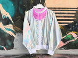 Holographic coat (Sliver)