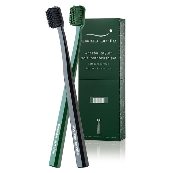 Herbal Bliss toothbrushes (set)