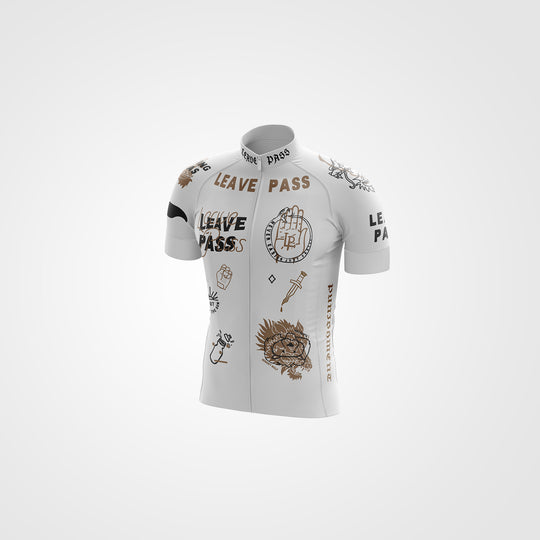 White Duality Jersey - Pre-Order Only