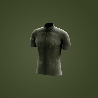 Olive Minimal Jersey - Pre-Order Only