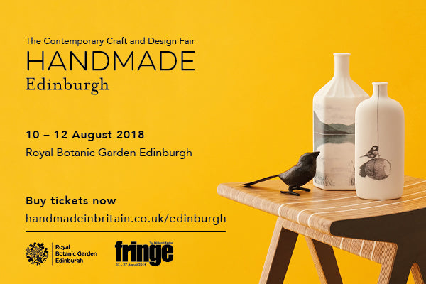 Handmade in Britain at the Royal Botanic Gardens, Edinburgh Festival Fringe 2018
