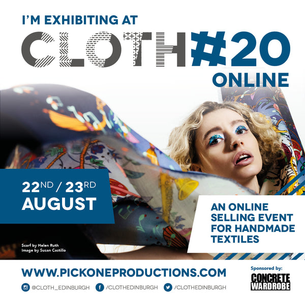 CLOTH#20 ONLINE 22nd & 23rd August 2020