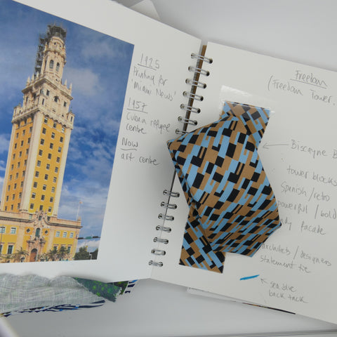 Freedom Tie inspired by Freedom Tower, Miami