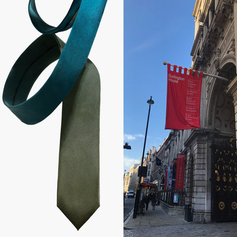 Royal Academy of Arts and Moss Silk Tie