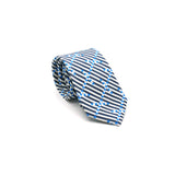 Breton Signal silk tie designed by Niki Fulton.Made in Great Britain