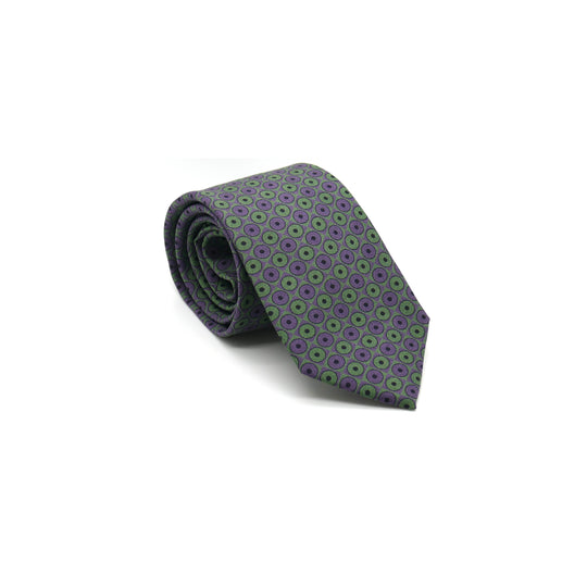Lovewell Silk Twill tie designed by Niki Fulton. Made in Great Britain