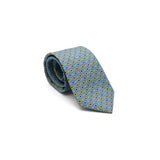 Lovewell Khaki silk tie designed by Niki Fulton. Made in great Britain.