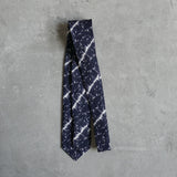 Botanical DNA linen tie designed by Niki Fulton
