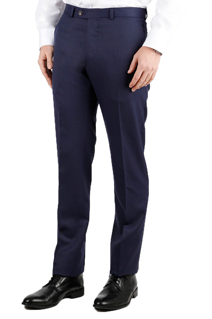 PANTALON FORMAL LISO AZUL FRANCIA