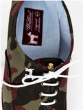 Zapatilla New York Camuflaje Burdeos