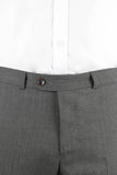 PANTALON FORMAL LISO GRIS