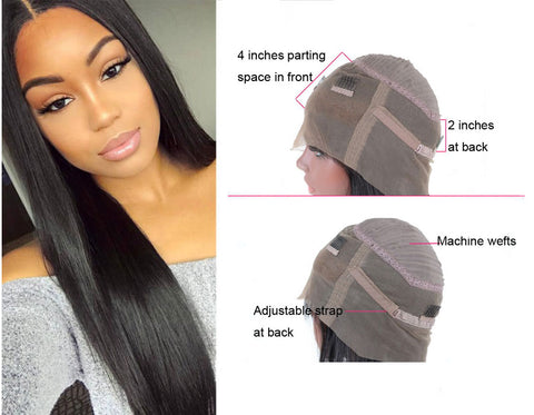 2ca45a8cddc ... cap giving you a full wig without needing the sew or glue in weft  tracks. It gives you a natural look at an affordable price.
