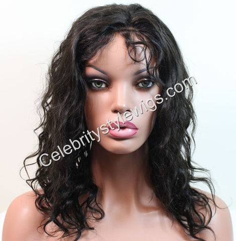 "12"" Inventory Stock Full Lace Wig Body Wave"