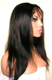"16"" Inventory Stock Full Lace Wig Light Yaki - Celebrity Style Wigs"