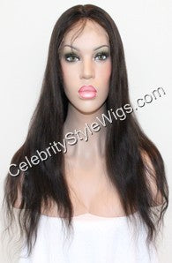 "18"" Inventory Stock Full Lace Wig Straight - Celebrity Style Wigs"