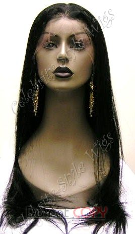 "20"" Inventory Stock Full Lace Wig Straight - Celebrity Style Wigs"