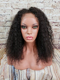 "In Stock Full Lace Wig 16"" Long Taya Kinky Curly - Ready to Ship in 1-2 Days"