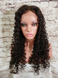 "In Stock Malaysian Full Lace Wig 24"" Long Breoni Deep Curl - Ready to Ship in 1-2 Days"