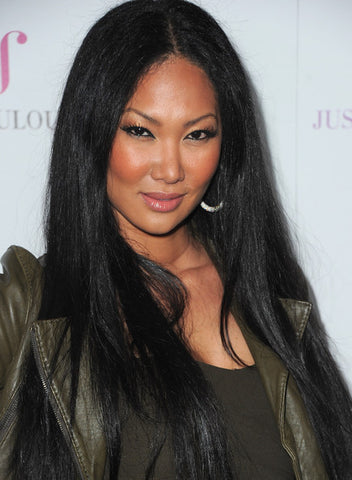 "22"" Inventory Stock Kimora Lee Simmons Inspired Full Lace Wig Straight - Celebrity Style Wigs"
