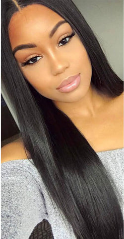 360 Lace Front Wig Inventory Stock in Light Yaki - Celebrity Style Wigs