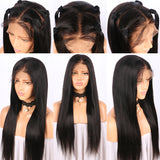 Kylie Jenner Inspired 360 Lace Front Wig Inventory Stock Straight - Celebrity Style Wigs