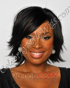 Jennifer Hudson Inspired Full Lace Wig Premium Celebrity Feather Cut - Celebrity Style Wigs