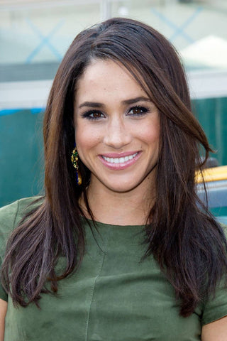 Meghan Markle Inspired Lace Front Wig or Full Lace Wig - Celebrity Style Wigs