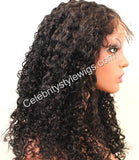 Full Lace Wig Toni Tight Silky Curl - Celebrity Style Wigs
