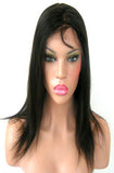 "16"" In Stock Virgin Brazilian Remy Lace Front Wig Body Wave Wefted Cap - Ready to Ship in 1-2 Days"