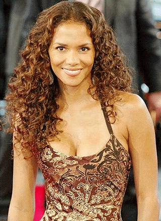 Halle Berry Inspired Full Lace Wig Tight Silky Curl - Celebrity Style Wigs