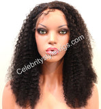 Diana Ross Inspired Full Lace Wig Kinky Curly - Celebrity Style Wigs