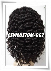 Full Lace Wig Celebrity Inspired LaShay Deep Curl - Celebrity Style Wigs