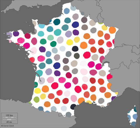 les pois multicolores en France!