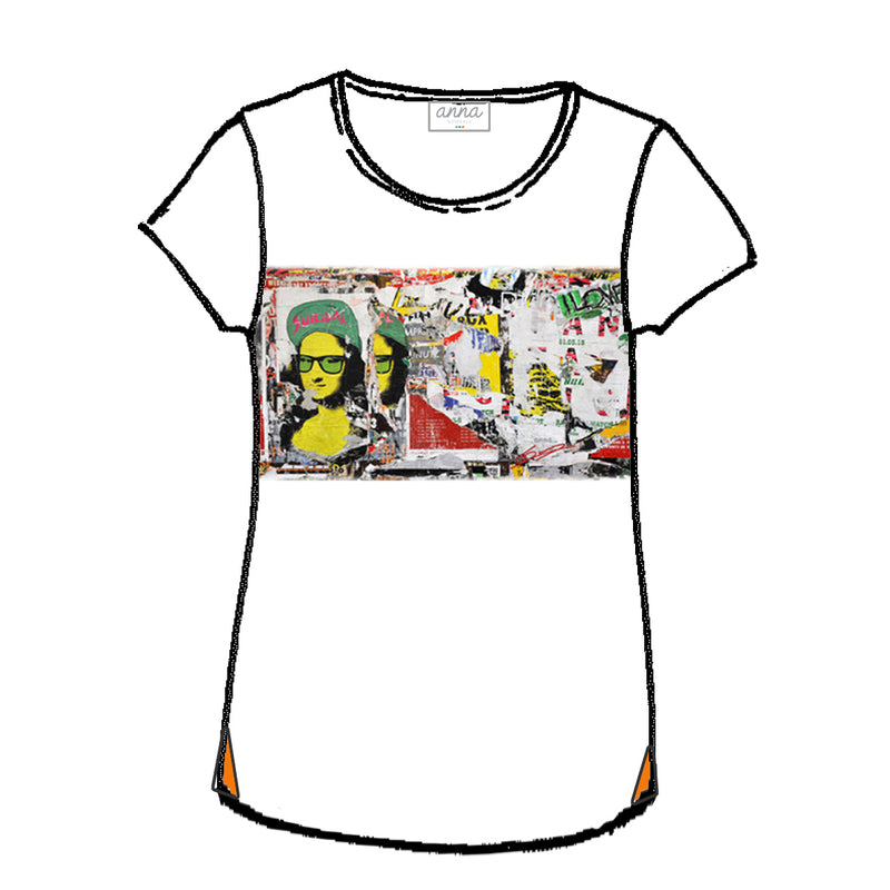 tee shirt Mona Street by Laurent Durrey