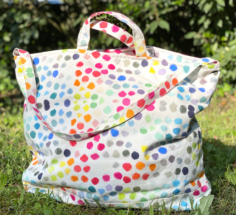 le grand sac de plage pois rock