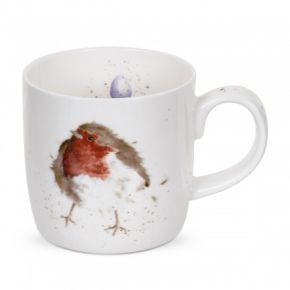 Garden Friend Robin Mug by Wrendale Designs