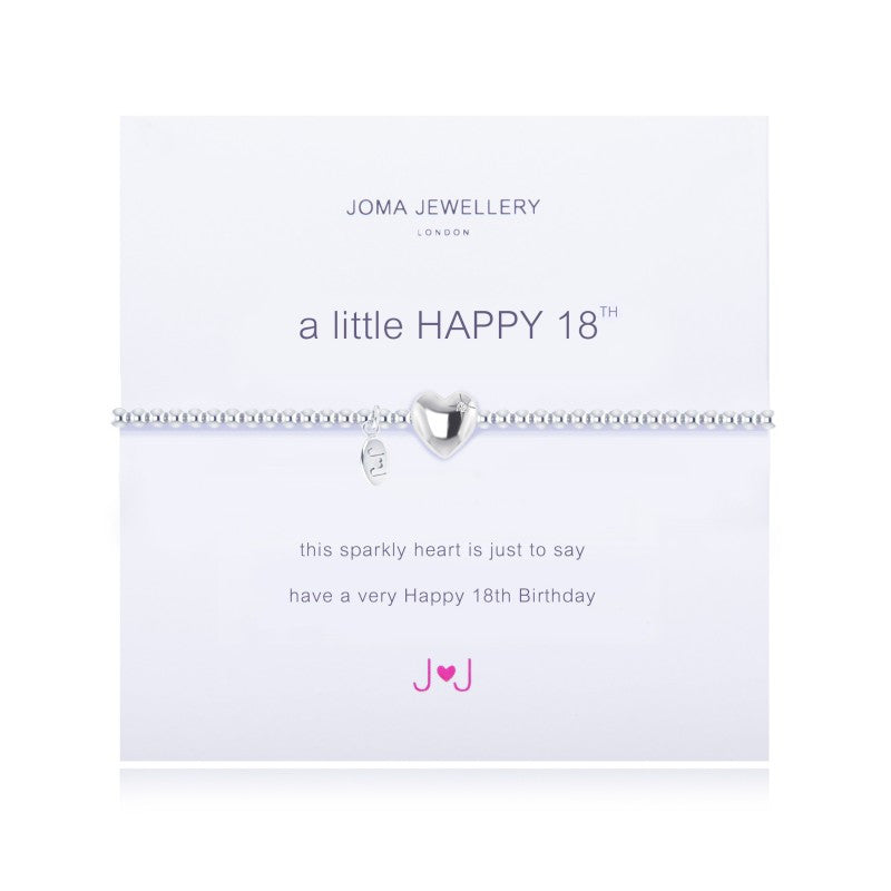 Joma Jewellery A Little Happy 18th  Bracelet