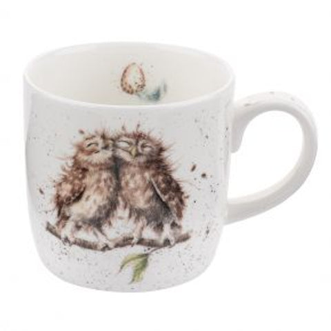 Wrendale Designs Birds of A Feather (Owl) Mug