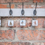Redhead Keyring by Hannah Dale - Wrendale Designs - Squirrel
