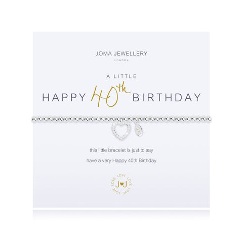 Joma Jewellery - A Little 40th Birthday