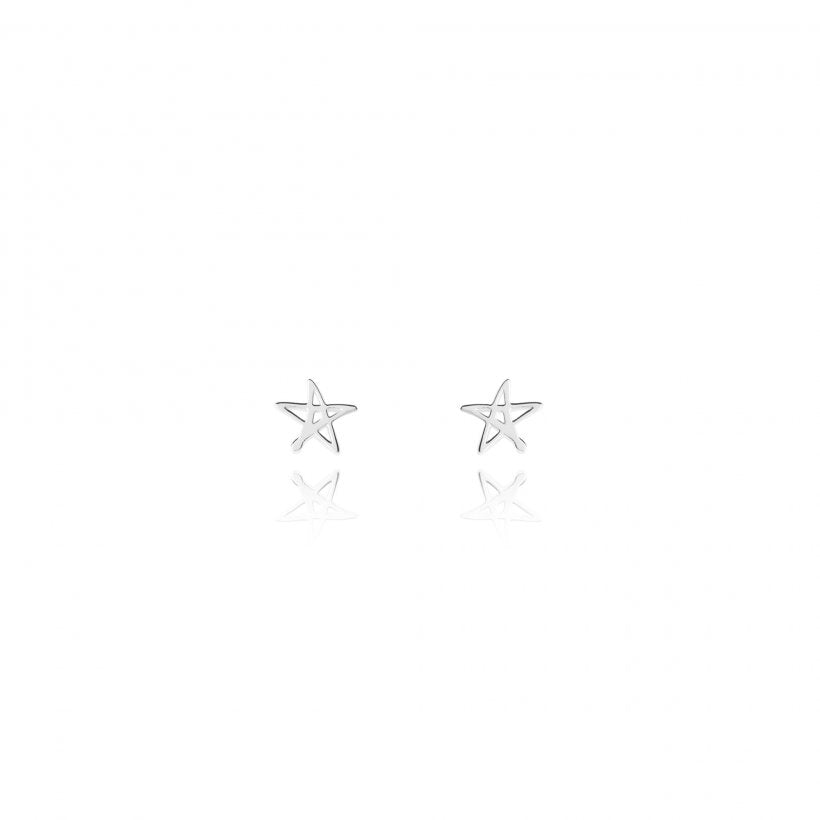 Lora Star Stud Earrings by Joma Jewellery 2345
