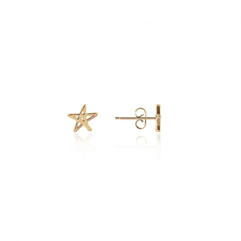 Florence Outline Star Earring Set by Joma Jewellery 3268