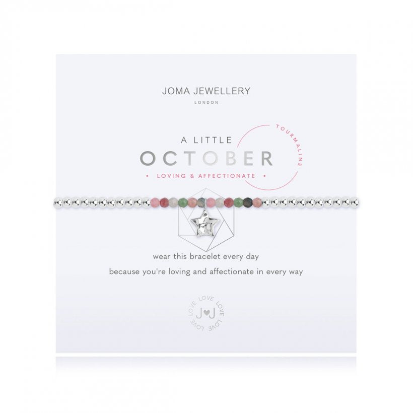 A Little Birthstone October Tourmaline by Joma Jewellery