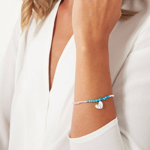 A Little Birthstone December Turquoise Bracelet by Joma Jewellery
